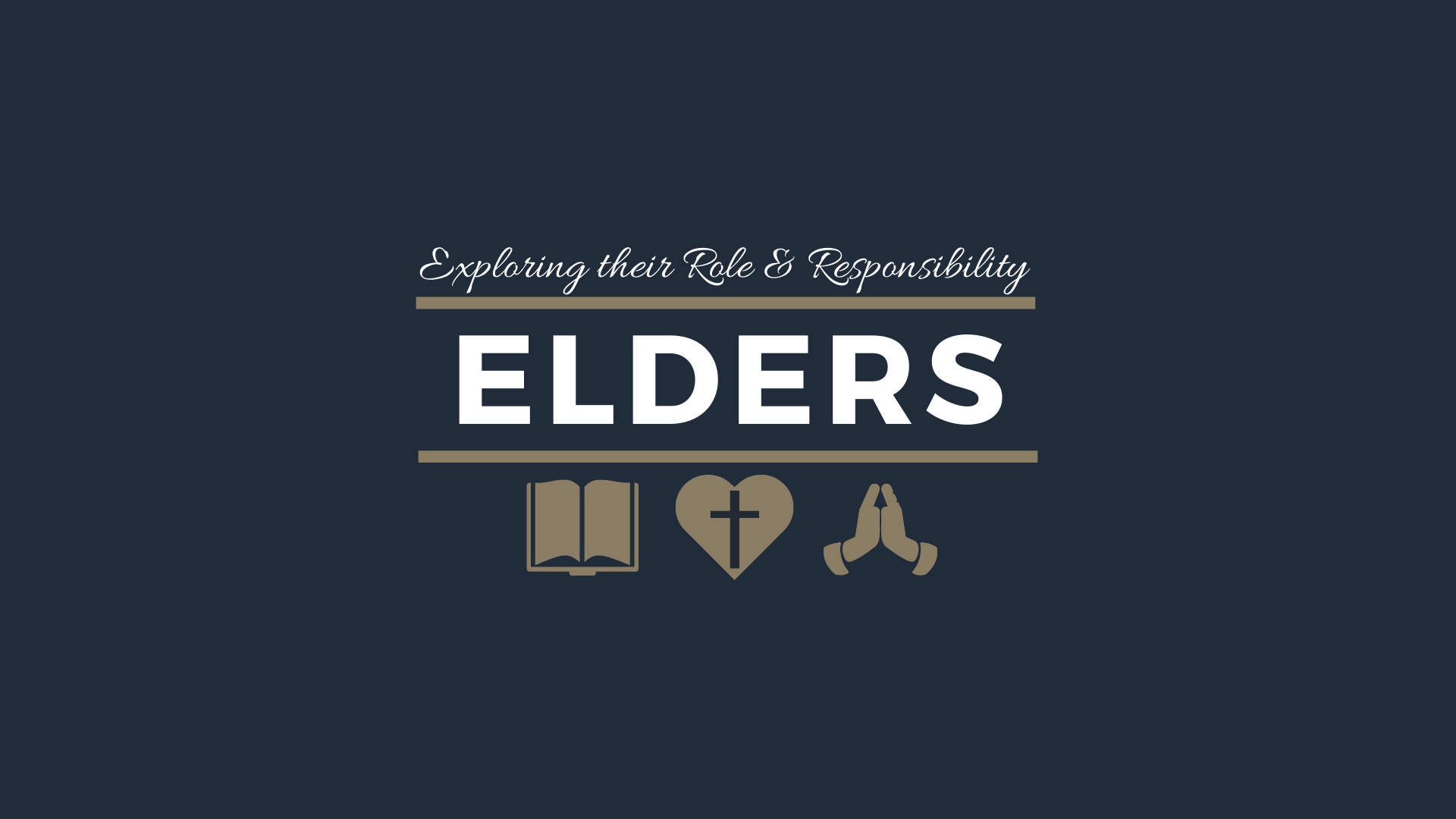 The Qualifications for an Elder